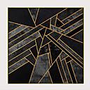 levne Nástěnná malba-Grafika Reprodukce maleb na plátně - Abstraktní Moderní Moderní Umělecké tisky
