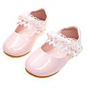 povoljno Kids' Flats-Djevojčice Udobne cipele / Obuća za male djeveruše PU Ravne cipele Dijete (9m-4ys) Ušivena čipka Obala / Light Pink Proljeće / Jesen / Zabava i večer / Guma