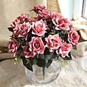 halpa Tekokukat-Keinotekoinen Flowers 1 haara Klassinen Eurooppalainen Hääkukat Ruusut Eternal Flowers Pöytäkukka