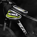 abordables Bolsas para Cuadro de Bici-2 L Bolsa para Cuadro de Bici Portátil Listo para vestir Al Aire Libre Bolsa para Bicicleta PU Bolsa para Bicicleta Bolsa de Ciclismo Ciclismo Ejercicio al Aire Libre Bicicleta