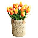 abordables Fleur artificielles-Fleurs artificielles 5 Une succursale Classique Traditionnel / Classique Européen Tulipes Fleurs éternelles Fleur de Table