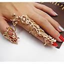 זול טבעות-בגדי ריקוד נשים טבעת פרח מסוגנן הַגזָמָה Fashion Ring תכשיטים זהב עבור ליציאה בר