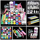 cheap Water Transfer Nail Stickers-Acrylic Kit Glitter Powder UV Gel For Finger Nail Toe Nail Classic / Best Quality Romantic Series nail art Manicure Pedicure Romantic / Fashion Daily / Festival