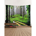 cheap Wall Tapestries-Landscape Wall Decor 100% Polyester Contemporary Wall Art, Wall Tapestries Decoration