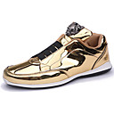 cheap Men's Sneakers-Men's Novelty Shoes Microfiber / PU(Polyurethane) Spring & Summer / Fall & Winter Sneakers Gold / Black / Silver