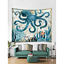 halpa Seinäkoristeet-Merieläin Wall Decor 100% polyesteri Nykyaikainen Wall Art, Seinävaatteet Koriste