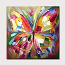 povoljno Apstraktno slikarstvo-Hang oslikana uljanim bojama Ručno oslikana - Sažetak Pop art Klasik Moderna Uključi Unutarnji okvir
