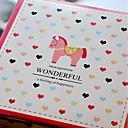 economico Porta bomboniere-Cuboidi Cartone Porta-bomboniera con A fantasia / stampa Bomboniere scatole / Confezioni regalo - 10 pezzi