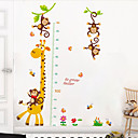 cheap Wall Stickers-Height Stickers - Animal Wall Stickers Animals Living Room / Bedroom / Bathroom