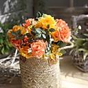 رخيصةأون أزهار اصطناعية-زهور اصطناعية 1 فرع فردي الحديث المعاصر Wedding Flowers الورود أزهار الطاولة