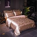 halpa Luxury pussilakanat-Pussilakanasetti setit Ylellisyys Polyesteria Jakardi 4 osainenBedding Sets