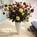 povoljno Umjetna Cvijet-Umjetna Cvijeće 5 Podružnica Klasični Europska Simple Style Roses Vječni cvjetovi Cvjeće za stol