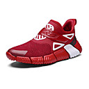 cheap Men's Sneakers-Men's / Unisex Comfort Shoes Tissage Volant Spring & Summer / Fall & Winter Athletic Shoes Fitness & Cross Training Shoes / Walking Shoes White / Black / Red