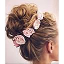 preiswerte Haar Accessoires-Baby Mädchen Grundlegend / Süß Blumen Schleife Kunstseide Haarzubehör Rosa / Fuchsia / Regenbogen Einheitsgröße