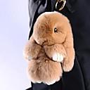 זול שרשראות מפתח-Rabbit שרשרת מפתחות צהוב חום פרווה עבור