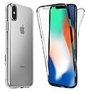 hesapli iPhone Kılıfları-Pouzdro Uyumluluk Apple iPhone XS / iPhone XR / iPhone XS Max Şoka Dayanıklı / Ultra İnce / Şeffaf Tam Kaplama Kılıf Solid Yumuşak TPU