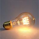 preiswerte Glühlampen-1pc 40 W E26 / E27 Gelb Transparent Körper Glühbirne Vintage Edison Glühbirne 220-240 V