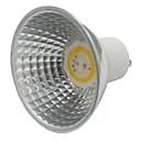 זול נורות לד ספוט-1pc 3.5w gu10 קרמיקה הוביל זרקור 300-320lm 110v 220v cob רפלקציה כוס מנורה לבן לבן חם