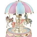 povoljno Novi gadgeti-Novost svijetla kupola okrugli vrtuljak melodija glazbeni okvir noćno svjetlo svjetiljke soba dekor