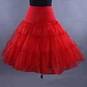 hesapli Eski Dünya Kostümleri-Bale Classic Lolita 1950'ler Elbiseler İç Etek Kabarık etek Kadın's Genç Kız Kostüm Beyaz / Siyah / Kırmızı Eski Tip Cosplay Düğün Parti Prenses