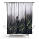 cheap Shower Curtains-Shower Curtains & Hooks Contemporary / Classic Plastics / Polyester Waterproof / Creative