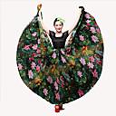 preiswerte Tanzkleidung für Balltänze-Latein-Tanz Unten / Flamenco Damen Leistung Baumwolle / Leinen Elastisch Normal Röcke