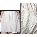 저렴한 Wedding Dress Fabric-쉬폰 솔리드 비 신축성 150 cm 폭 구조 용 특별 행사 팔린 ~에 의해 0.5m