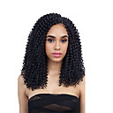 "cheap Hair Braids-Braiding Hair Curly Twist Braids / Afro Kinky Braids / Curly Braids Synthetic Hair 3 Pieces Hair Braids Natural Color 14"" Crochet Braids / 100% kanekalon hair / Ombre Hair Party / Dailywear African"