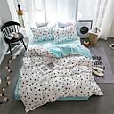 halpa Sarjakuva pussilakanoiksi-Pussilakanasetti setit Yhtenäinen / Moderni Polyesteria Printed 4 osainenBedding Sets