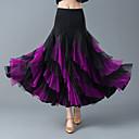 preiswerte Tanzkleidung für Balltänze-Für den Ballsaal Unten Damen Training / Leistung Elasthan / Kristall-Baumwolle Gestuft Hoch Röcke