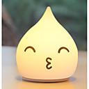 رخيصةأون إضاءة عصرية-1PC الصمام ليلة الخفيفة أبيض دافئ USB إبداعي <=36 V