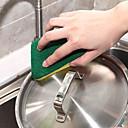 halpa Keittiön siivoustarvikkeet-Keittiö Siivoustarvikkeet Nylon mikrokuituliina Sponge polyesterikuitua Pesusieni Uusi malli Suoja Työkalut 8kpl