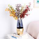 abordables Fleurs Artificielles-Fleurs artificielles 1 Une succursale Classique Soirée Accessoires de Scène Plantes Fleurs éternelles Fleur de Table