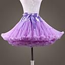povoljno Stare svjetske nošnje-Balet Classic Lolita 1950-te Haljine Petticoat kratka baletska suknja Krinolina Žene Djevojčice Til Kostim Crn / Tamno siva / Obala Vintage Cosplay Vjenčanje Party Princeza