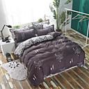 levne Květinové povlaky Kryty-Povlečení Květinový / Současné Polyester S potiskem 4 kusyBedding Sets