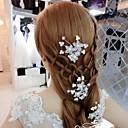povoljno Biciklističke majice-Imitacija bisera Headpiece s Scattered Bead Floral Motif Style / Cvjetni print 4 komada Vjenčanje / Zabava / večer Glava