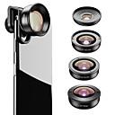 povoljno Stolne svjetiljke-Leća za mobitel Fish-eye objektiv / Objektiv za duboki fokus / Širokokutni objektiv staklo / Aluminijska legura 2X 37 mm 0.01 m 195 ° New Design / Cool