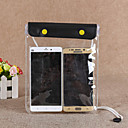 זול חליפות רטובות,חליפות צלילה וחולצות ראש-גארד-תיק מגן טלפון נייד תיק טלפון סלולרי תיק ל מוגן מגשם רוכסן עמיד למים 1 אִינְטשׁ PVC 15 m