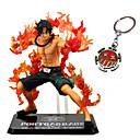 رخيصةأون شخصيات أنيمي-عمل أرقام أنيمي مستوحاة من One Piece Ace PVC CM ألعاب تركيب دمية لعبة