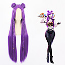 cheap Videogame Cosplay Wigs-Cosplay Cosplay Cosplay Wigs All 40 inch Heat Resistant Fiber Purple Anime