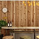 זול טפטים-טפט פלסטיק ומתכת וול כיסוי - דבק נדרש סיבי עץ