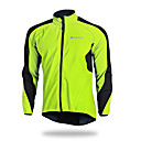cheap Cycling Pants, Shorts, Tights-Nuckily Men's Cycling Jacket Bike Winter Fleece Jacket Top Bottoms Waterproof Thermal / Warm Windproof Sports Polyester Elastane Fleece Winter Red / Green / Blue Mountain Bike MTB Road Bike Cycling