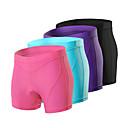 זול שטיחים-Arsuxeo בגדי ריקוד נשים תחתוניות לרכיבה מכנס קצר מרופד לרכיבה אופניים מכנסיים קצרים הלבשה תחתונה שורטים (מכנסיים קצרים) מרופדים תחתיות ספורט ספנדקס סגול / פוקסיה / כחול רכיבת הרים רכיבת כביש ביגוד
