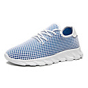 cheap Men's Athletic Shoes-Men's Comfort Shoes Mesh Spring & Summer Sporty / Casual Athletic Shoes Breathable White / Blue / Black / White
