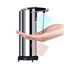 זול Soap Dispensers-כלי לסבון אוטומטי מתכת אל חלד 250 L