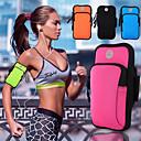 billiga Lunchväskor-neopren armpack utomhus dykning sport fitness mobiltelefon väska vattentät unisex 6 tum eller mindre