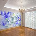 povoljno Zidne tapete-krug pozadina umjetnost lotos bambus šuma pogodna za tv pozadinu zidne tapete murali dnevna soba kafić restoran spavaća soba ured xxxl (448 * 280cm)