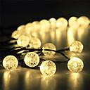 povoljno Svadbeni ukrasi-1 set vodio lampion solarni svjetlo niz 15m 100 svjetlo mjehurić lopta otvoreni vodootporan svjetlo vrt ukras svjetlo