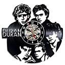 levne Nástěnné hodiny-starožitný styl duté cd záznamové hodiny duran vinyl záznam nástěnné hodiny