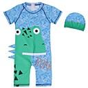 זול בגדי ריקוד לילדים-בגדי ים כותנה דפוס בנים ילדים